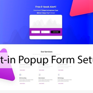Opt-in Popup Form Setup